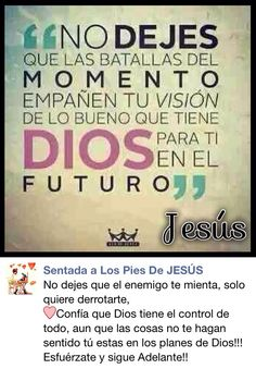 ❤️Confía Dios tiene el control de todo!!!