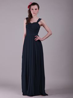 **Twisted Bodice Jeweled Strap Vintage Bridesmaid Dress    http://www.forherandforhim.com/twisted-bodice-jeweled-strap-vintage-bridesmaid-dress_722.html#