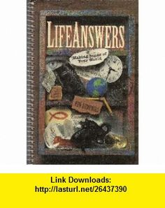 Lifeanswers  Making Sense of Your World (9780805499643) David Edwards , ISBN-10: 0805499644  , ISBN-13: 978-0805499643 ,  , tutorials , pdf , ebook , torrent , downloads , rapidshare , filesonic , hotfile , megaupload , fileserve