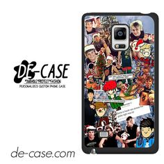 5 Second Of Summer Lock Screen DEAL-65 Samsung Phonecase Cover For Samsung Galaxy Note Edge