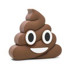 Poop Emoji Portable Battery Pack