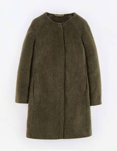 Sienna Coat - love the mohair coat. Have had. One for years but need to replace it. Wish this had a collar
