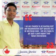We would like to congratulate our student @Ketan Patel on receiving his student visa for Canada! All the best for the future!
