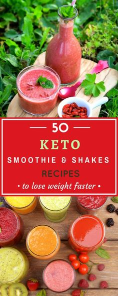 keto smoothies and shakes recipes