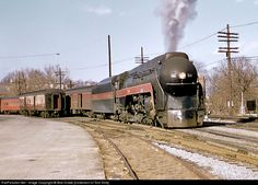 RailPictures.Net Photo: NW 604 Norfolk & Western Steam 4-8-4 at Lynchburg, Virginia by Bob Drake [Collection of Tom Sink]