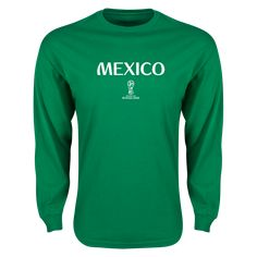 Mexico 2018 FIFA World Cup Russia™ Essential Long Sleeve T-Shirt (Green)  7a5fa2dd6