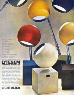 1965 High-Intensity Lamps