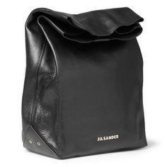 jil sander #bag #black looks like a paper bag but definitely more stylish and made of decent material xD