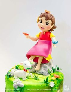 Princess Peach, Disney Princess, Tinkerbell, 3, Cake Ideas, Biscuit, Disney Characters, Fictional Characters, Pasta