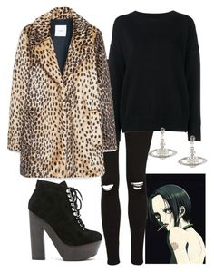 """Nana Osaki inspired"" by limbria ❤ liked on Polyvore featuring Nana', Topshop, Frame Denim, MANGO and Grey City"