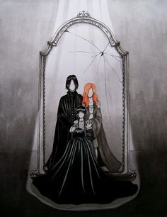 Snapes view in Mirror of Erised - So sad!