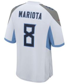 Nike Men s Marcus Mariota Tennessee Titans Game Jersey - White S cd332644c