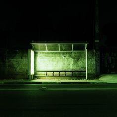 os pontos|bus stops - felipe bertarelli