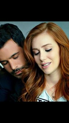 Baris Arduc and Elcin Sangu The Best Series Ever, Elcin Sangu, Muslim Wedding Dresses, Turkish Fashion, Cute Girl Pic, Hair A, Turkish Actors, Beautiful Couple, Johnny Depp