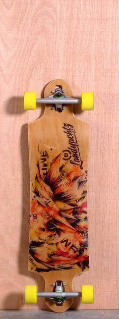 "Landyachtz 36"" Switchblade Longboard Complete"