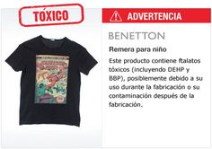 Greenpeace descubrió en la ropa de marcas internacionales sustancias quimicas peligrosas que contaminan el ambiente y el agua. Pediles que fabriquen ropa sin toxicos: www.greenpeace.org/zara