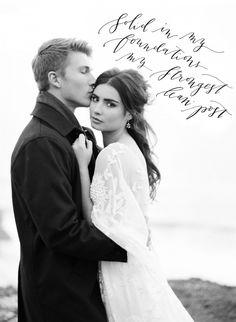 Best at Dusk - Organic Coastal Wedding Ideas by Taylor & Porter | Wedding Sparrow | wedding blog