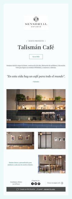   NUEVO PROYECTO      Talismán Café