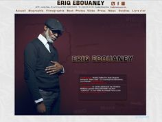 Eriq Ebouaney Web site 2012 Gold Stars, Paris France, Black Gold, Actors, Photo And Video, Website, Lifestyle, Books, Movie Posters