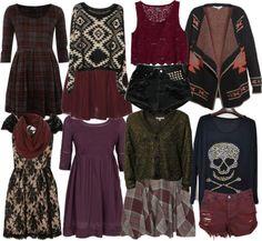 dress soft grunge edgy romantic girly dark aria montgomery pretty little liars plaid skull lace leather studs sweater skirt