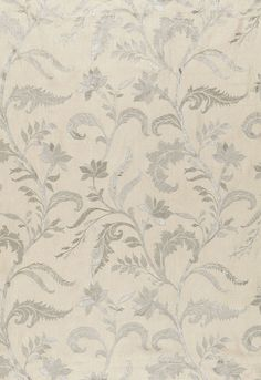 Monceau Linen Embroidery in Zinc, 65130.  http://www.fschumacher.com/search/ProductDetail.aspx?sku=65130 #Schumacher