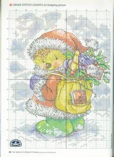 Gallery.ru / Фото #1 - The world of cross stitching 091 рождество 2004 - WhiteAngel
