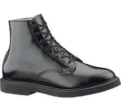 Bates Men's Lites E00058 Chukka Work Shoe,Black,12 D US Leather upper. Leather  Lace Up BootsShoe ...
