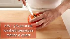 Watch How to Freeze Tomatoes