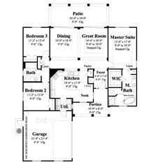 Gervis-Main Level Floor Plan- #6530