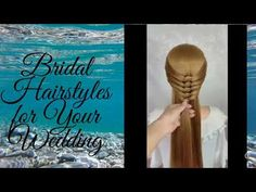 There can be several types of hairstyles ranging from elegant updos to messy buns. The reason why brides typically go for the bun hairstyle is that it makes it ... Super Easy Hairstyles, Easy Everyday Hairstyles, Bun Hairstyles, Trendy Hairstyles, Glamorous Hairstyles, Bold Hair Color, Hot Hair Colors, Hair Color For Women, Sleek Updo