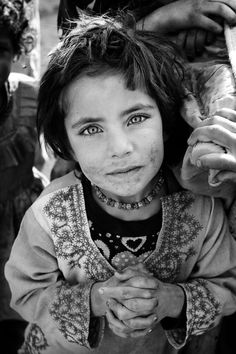 I can see so many things in her eyes: beauty, innocence, hope, life, faith…it is so peaceful