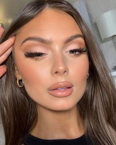 Makeup Eye Looks, Bridal Makeup Looks, Nude Makeup, Skin Makeup, Gorgeous Makeup, Pretty Makeup, Makeup Tips, Beauty Makeup, Ball Makeup