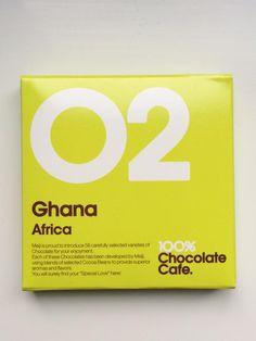 Meiji #02: Ghana has classic chocolate flavor. Around 52%. Warm chocolatey notes like brownies. Just a hint of fruit.