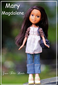 Bratz Doll Makeunder Make-over Repainted Doll by GraceFilledHands