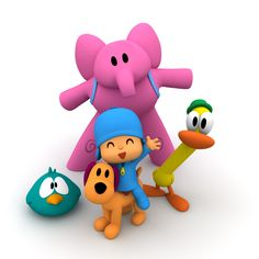 A série de animação infantil Pocoyo  está entre as mais queridas da criançada na faixa dos 2 anos de idade.  Seu personagem principal, que...