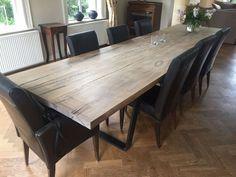 Woodindustries houten eettafel op maat