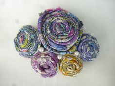 Gorgeous floral rose hair clasp with made with by HunterandArgyle, Hair Clasp, Fabric Roses, Rose Hair, Gorgeous Fabrics, Floral, Accessories, Rosa Hair, Pink Hair, Rose Pink Hair