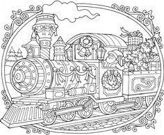 Christmas Train Coloring Page Free Christmas Coloring Pages Printable Christmas Coloring Pages Train Coloring Pages