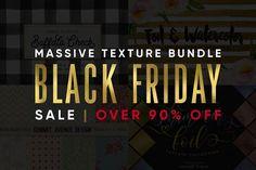 Black Friday Texture Pattern Bundle by Summit Avenue on @creativemarket