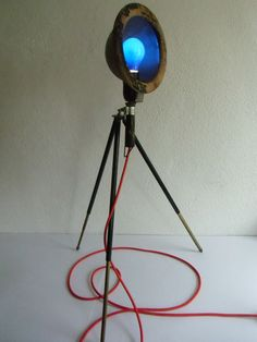 Stativstehlampe - Lampe - Rotlichtlampe D.R.G.M von MaDütt auf DaWanda.com
