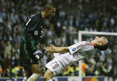 Shevchenko scores the decisive penalty for AC Milan against Juventus in Champions League 2003 Final