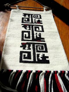 MARTA RIVARA - TELAR Textiles, Loom Weaving, Projects To Try, Tapestry, Blanket, Rugs, Knitting, Crochet, Biscuit