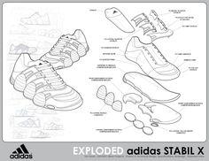 buy popular 72b27 04b35 Adidas Stabil X Shoe Concept by Tim Haats at Coroflot.com Portfolio Design,  Pencil