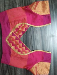 Best 12 Stylish blouse back neck design – SkillOfKing. Saree Blouse Neck Designs, Simple Blouse Designs, Stylish Blouse Design, Patch Work Blouse Designs, Blouse Neck Models, Blouse Neck Patterns, Designer Blouse Patterns, Couture, Blazer