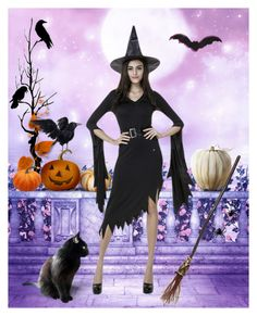 """""""Witch"""" by jojona-1 ❤ liked on Polyvore featuring art"""