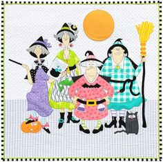 Witches Quilt Pattern | Etsy