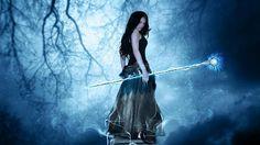 ... Fairies and elves ...: La niña de los ojos azules...