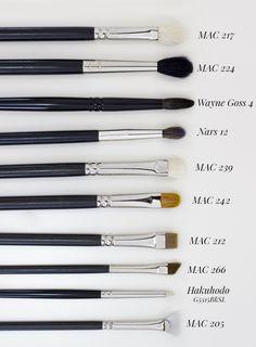 Pinceles & Brochas favoritos by makeupzone.net