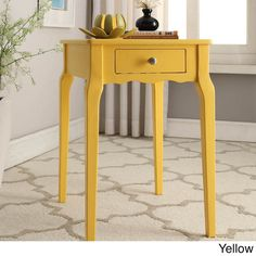 Daniella 1-drawer Wood Storage Accent Side Table by INSPIRE Q