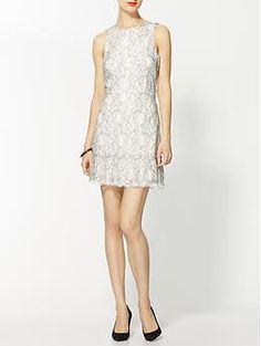 DV by Dolce Vita Banita Contrast Lace Dress   Piperlime